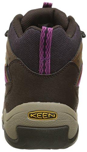 Womens brown Keen Mid Polar Marche Oakridge Chaussure de tZq4UZw