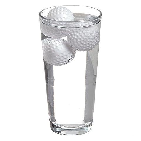 CKB Ltd® Wiederverwendbare Eiswürfel 19th Hole Neuheit Golf Ball Drink Coolers Ice Cubes - Golfball - Chill Getränke ohne Verdünnung - 12er Set