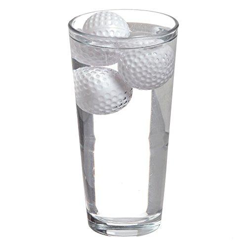 dbare Eiswürfel 19th Hole Neuheit Golf Ball Drink Coolers Ice Cubes - Golfball - Chill Getränke ohne Verdünnung - 12er Set (Neuheit Wiederverwendbare Ice Cubes)