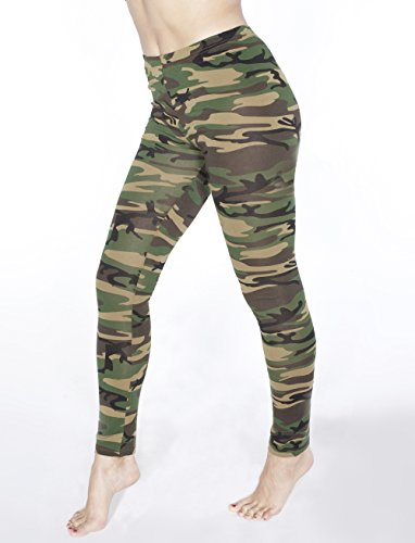 Croft Ideen Lara Kostüm (Leggings camouflage L/XL)