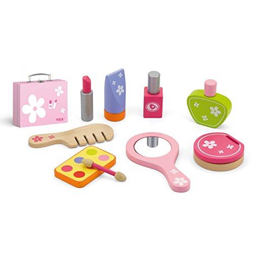 Eitech GmbH 50531 Toy Viga Toys-Kosmetik Köfferchen, Multi Color
