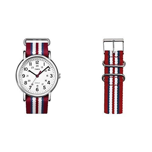 Reloj Timex Unisex T2N746PF + Correa para Reloj TW7C03400