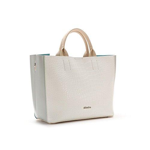 Abbacino Ss16 Trendy la Savina 8731, Borsa Donna, Taglia Unica Bianco (WHITE)