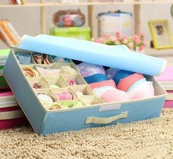 vinallo fodable Unterwäsche Kleidung BH Stoff Socken Arrangement Closet Organizer Schublade Home ordentliche Aufbewahrung Tasche (Kleidung Closet Organisation)