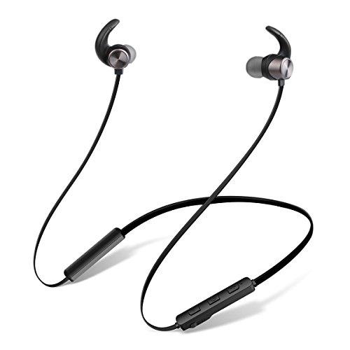 Bluetooth Kopfhörer, JIAMA Bluetooth 4.2 in ear magnetische Headset Beatsx Style Design Nackenbügel mit Wasserschutzklasse IPX5 / 8-Stunden-Spielzeit / Mikrofon, federleicht für iPhone, iPad, Samsung, Nexus, HTC und mehr