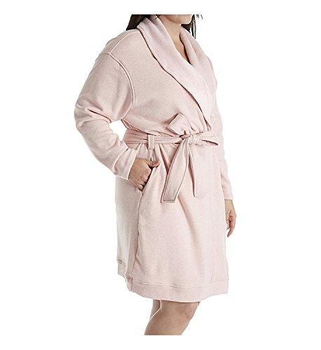 UGG Women's Plus Size Blanche Robe Petal Heather Robe (Womens Plus Size Roben)