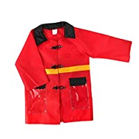 Coddington Kids Fireman Costume Toy Fire Hat Clothes Set Accessories Cosplay Stage Performance Supplies