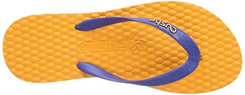 Cushe Brazo, Tongs Homme Orange (Orange/Blue)