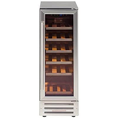 Lec Commercial GD261 Slim line Wine Cooler, 18 Bottles from Lec Commercial