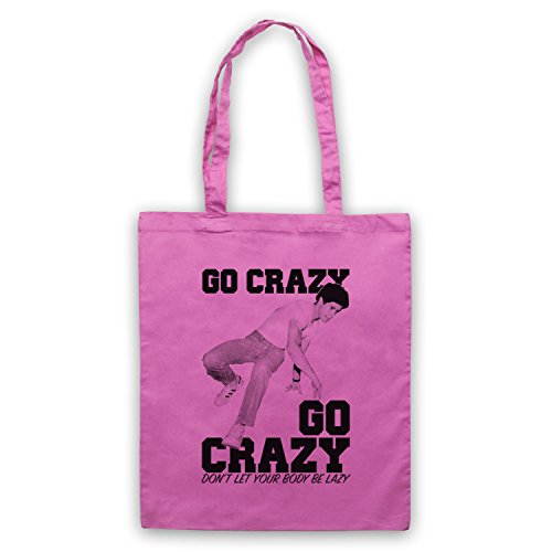 Crazy Legs Go Crazy Breakdancing Slogan Umhangetaschen Rosa
