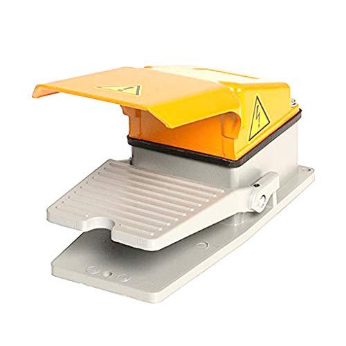 Ben-gi Industrial Equipment Fuss-Fußschalter Nonslip Aluminiumlegierung Shell Electric Power Fußschalter