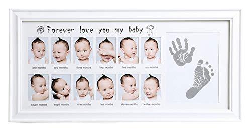 Icegrey DIY Bebé Handprint Marco Fotos Huella Mano