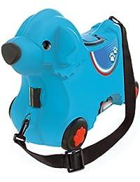 BIG Spielwarenfabrik 800055350 -Bobby-Trolley, Kinderkoffer, Kindergepäck