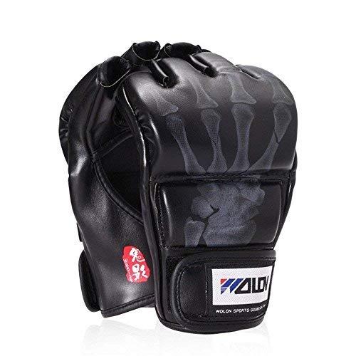 Weitere Sportarten Mma Handschuhe Boxhandschuhe Kickboxhandschuhe Fitness Trainingshandschuhe Dinge Bequem Machen FüR Kunden