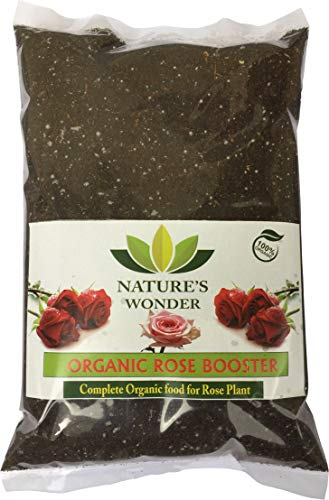 Nature'S Wonder Organic Rose Booster Complete Solution for Rose Plant, 100% Organic Plant Food for Beautiful Flowering & Healthy Plants (250 gm)