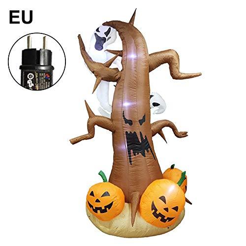 Beste Scary Halloween Dekorationen - Opfury 4 Stück Halloween Aufblasbare Dekoration,