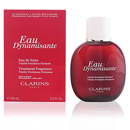 CLARINS EAU DYNAMISANTE mit Zerstäuber 100 ml - Feuchtigkeitsspendende Patchouli Öl