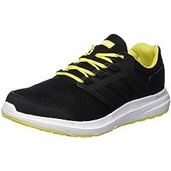Adidas Galaxy 4 M, Scarpe da Running Uomo, Nero (Core Black/Core Black/Ftwr White), 42 EU
