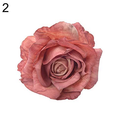 Lsgepavilion Fermatenda Forma di Rosa per Decorare la casa e lhotel Red