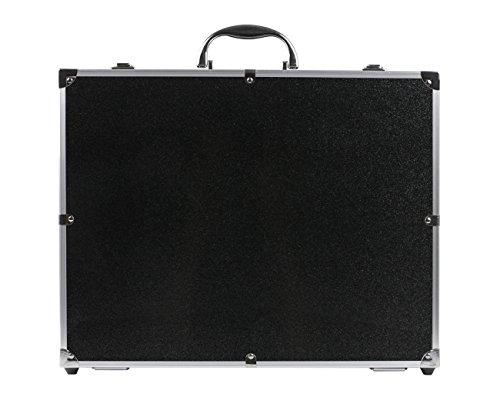 HMF 18301-02 Transportkoffer, Koffer passend für X5C , X5SC , X5 Syma Drohne, bis zu 5 Akkus, 42,5 x 33,5 x 11,5 cm, schwarz - 4