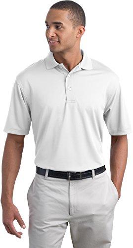 Port Authority, die Bambus Mischung Pique Sport Shirt. Weiß - Weiß