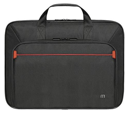 Mobilis 005023Tasche mit Schultergurt für Laptop schwarz/rot 16