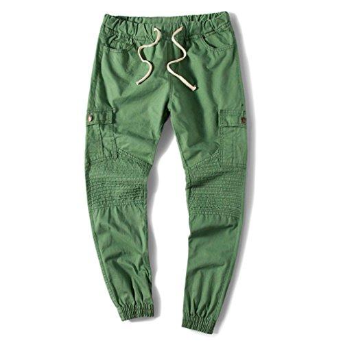 Paolian Pantalons de survêtement Occasionnels pour Hommes, Design Élégant, Pantalons Confortables et Confortables, Must des Hommes de la Mode