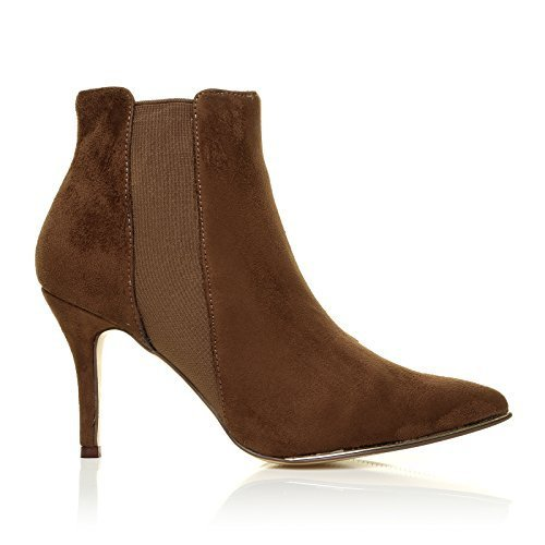 macy-tan-microfibre-snake-high-heel-pointed-toe-ankle-boots-size-uk-8-eu-41