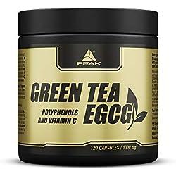Peak - EGCG - Grüntee Extrakt - 120 Kapseln