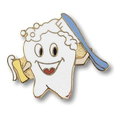 Professional Cloisonne Tacs Tooth Design Uniform Tacs
