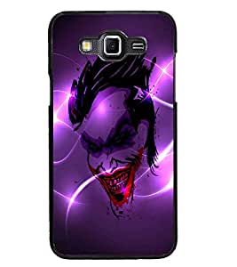 PrintDhaba Joker D-2836 Back Case Cover for SAMSUNG GALAXY GRAND 3 (Multi-Coloured)