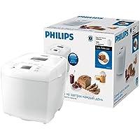 Philips Hd9015/30  Macchina del Pane con 12 Programmi Pre-Impostati e Timer Programmabile, per Preparare in Casa il Tuo Pane Quotidiano
