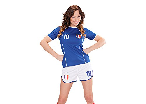 Widmann   blau/weiß (Für Spieler Kostüm Fußball Kinder)