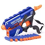 Aone Enterprise M Kids Hot Fire Blaze Storm Soft Bullet Gun7643 Guns & Darts (Multicolor) (Dr59Pe01_Blue)