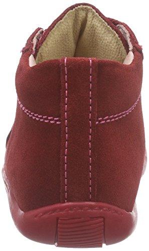 Däumling Timmy, Baskets premiers pas bébé fille Rouge - Rot (Turino cardinale10)