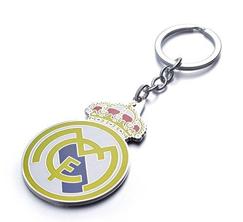 club-de-football-real-madrid-metalliques-porte-cles-keychain-keyring