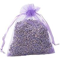 TooGet lavanda orgánica sobres seco flores Desodorante para hogar y oficina, cajones, armarios, coche, viaje relajante aromaterapia - 12 piezas