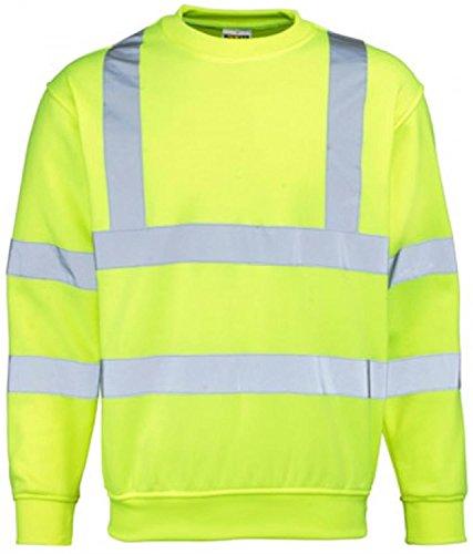 Yoko Sicherheits Sweatshirt Farbe Gelb Größe 3XL