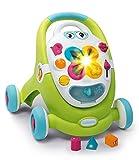 Smoby - 110428 - Cotoons - Trotteur Pour Enfant 2 en 1 + Tablette - Multifonctions Sons et Lumières - Mixte