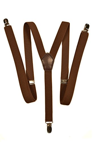 Skinny Style fully adjustable Y-Shape Clip on Braces / Suspenders, 2cm Test