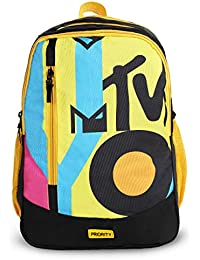 Priority Harmony MTV 32 LTR Black Casual School | College Backpack Bag