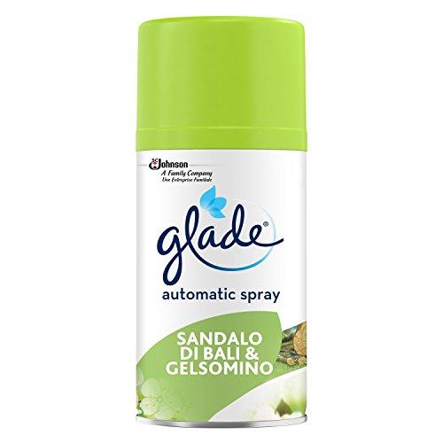 Glade Automatic Spray Ricarica - Fragranza Sandalo di Bali e Gelsomino