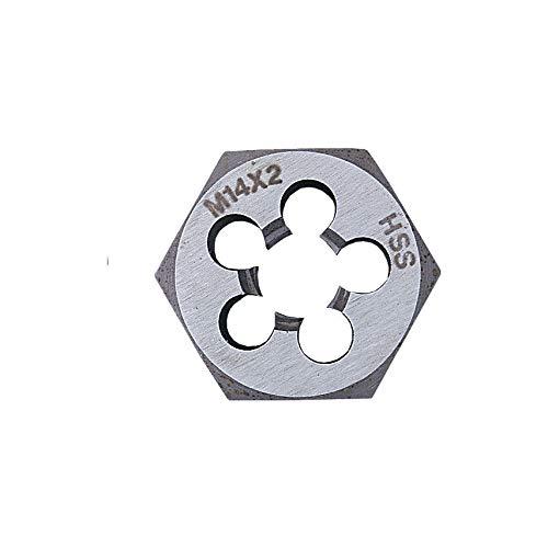 Schneideisen Sechskant-Schneidmutter metrisch fein M10 x 1 Rechtsgewinde HSS
