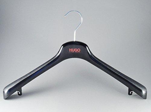Hugo Boss Kleiderbügel für Jacken, Kostüme und 2-Teiler, 45cm, schwarz, 10 Stück