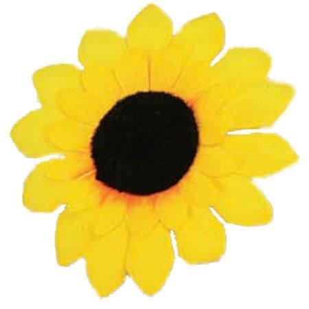 Orlob PARTY DISCOUNT ® Ansteck-Sonnenblume, 10cm ()