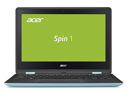 Acer Spin 1 (SP111-31-P5VA) 29,5 cm (11,6 Zoll) Full HD IPS (Intel Pentium N4200, 4 GB RAM, 500 GB HDD, Intel HD Graphics 505, Win 10 Home, Multi Touch) blau / Schwarz