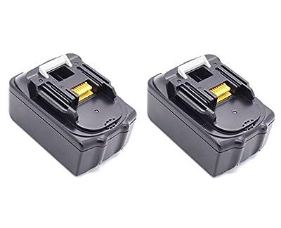 2X 5,0Ah 18 V BL1850 Ersetzen Werkzeug Makita akku BL1830 BL1840 LG Neu Zellens, 10 Zellens