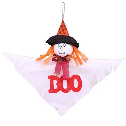Gaddrt Kreative Halloween-Anhänger, dekoriert aus Filz, Halloween, sonnige Puppe a