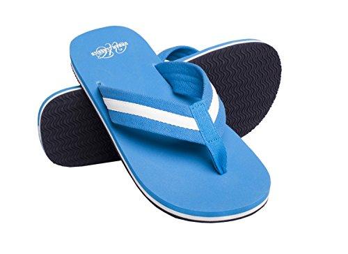 Urban Classics Sandalen/Zehentrenner Beach Slippers TB304 Turquoise/White