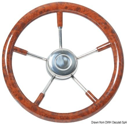Osculati 45.132.35 - Steering wheel 350mm root Test